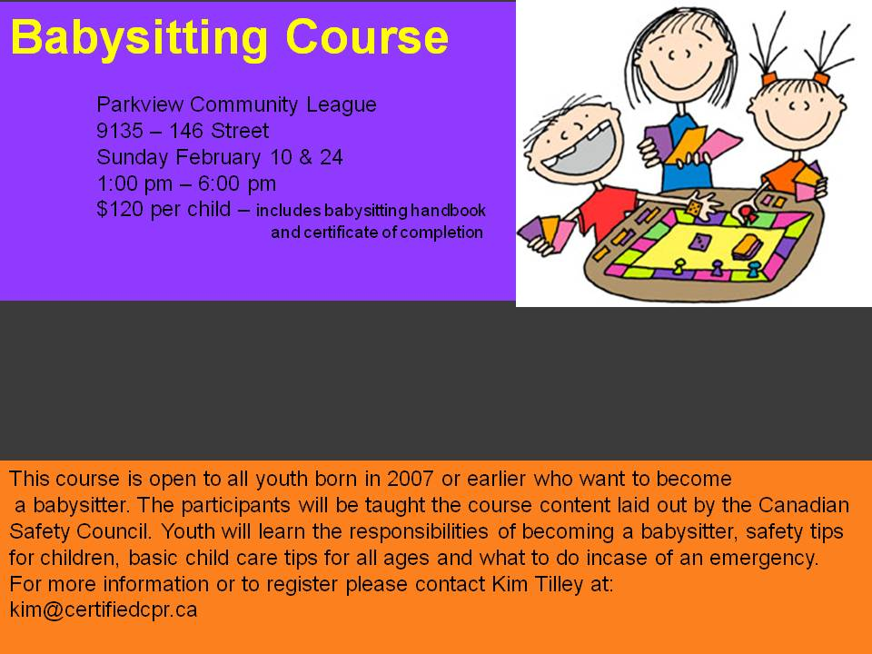 babysitting course febV2