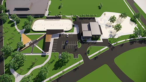 Parkview Rendering